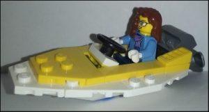 B in a Boat