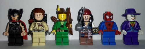 Lego Fancy Dress Costumes