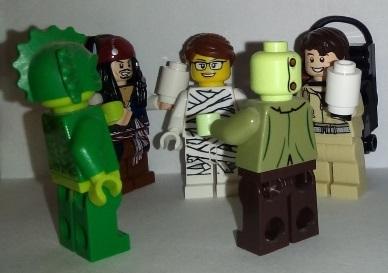 Lego Wedding Mummy Game