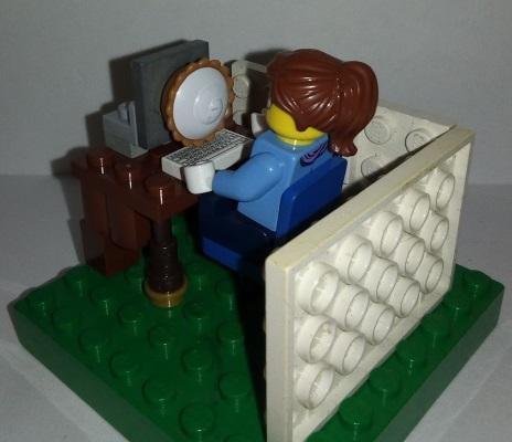 Lego Cake Cache