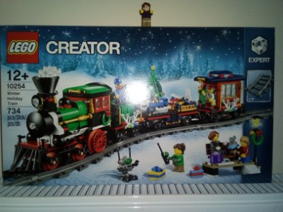 New Lego Winter Holiday Train