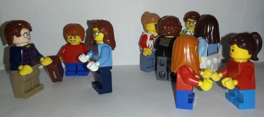 Lego X School Dropoff