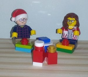 Lego B and L Wrapping