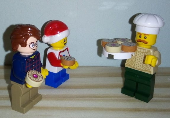 Lego Advent Biscuit Chef