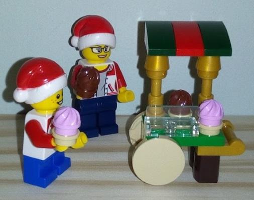 Lego Advent Cake Cart
