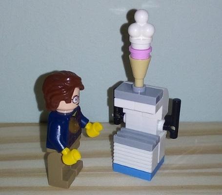 Lego ice-cream machine