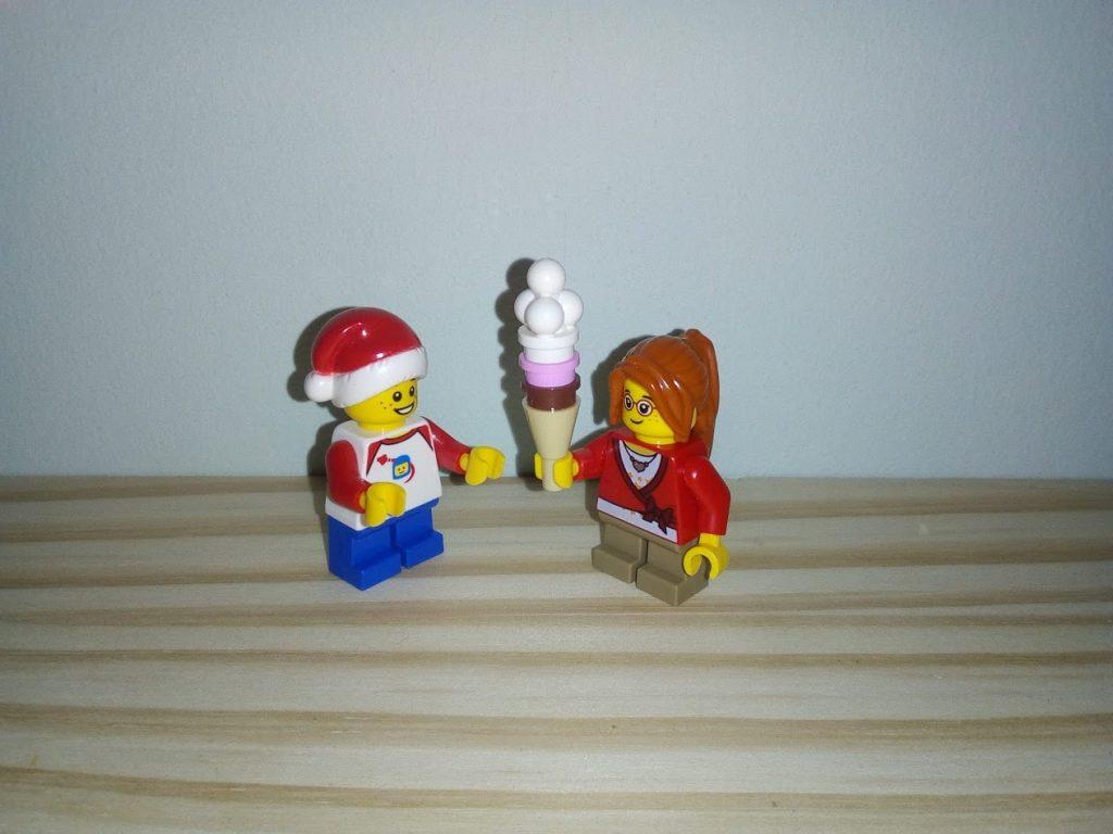 Lego Advent Ice-cream Girl
