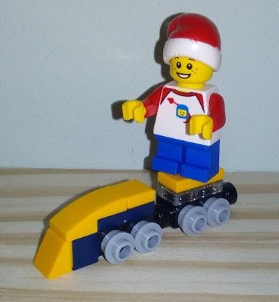 Lego train advent