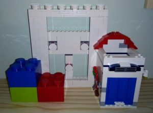 Lego Photo Frame & Pencil Holder Modded