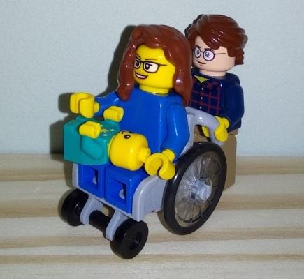 Lego Me, B and Baby X